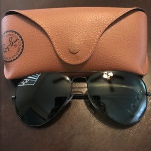 Ray Ban Aviators Black
